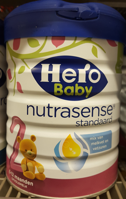 Pesticide kopersulfaat in babyvoeding
