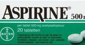 Aspirine voorkomt geen ziekten, maar veroorzaakt ze